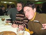 Мы на финише квеста в кафе - АБСОЛЮТно голодные, как ВолКи:)