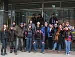 Команда ВолК перед началом квеста №7 - суботнее утро 21-февраля 2009 г. и даже, в виде исключения, очередной кинопросмотр на клубе К отменили ради...