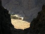 Вид из ущелья на монастырь Святой Екатерины (Синай, примерно 6 в. н.э.)