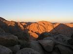 Рассвет в синайских горах