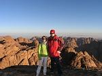 Я и моя любимая в синайских горах высота 2300 м. над у.м.