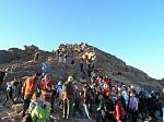 Паломники на горе Моисея