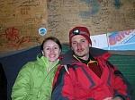 Я и моя любимая на привале, на высоте 2230 м. над у.м.