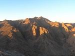 Вид на гору Святой Екатерины – высшая точка Синайского полуострова
