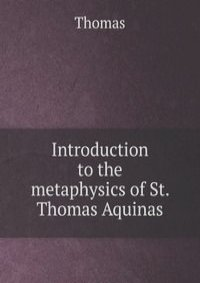 a critical analysis on the metaphysics of st thomas aquinas