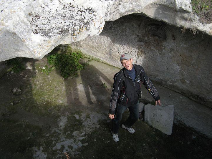 Поход участников клуба К с друзьями на пещерный город Бакла 28 октября 2008 г.